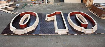 Betonmal 010 voor op een dak