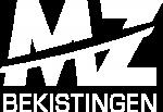 MZ Bekistingen logo wit